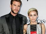Mandatory Credit: Photo by Matt Baron/BEI/BEI/Shutterstock (2782595a).. Liam Hemsworth and Miley Cyrus.. 'Paranoia' film premiere, Los Angeles, America - 08 Aug 2013.. ..