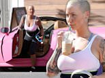 eURN: AD*193944667  Headline: MOVI210116A_07.jpg Caption: **EXCLUSIVE**  Date: January 21st 2016  Photo Credit: MOVI Inc. Never one to shy away from the limelight, Amber Rose squeezes her ample curves, complete with a waist trainer, into her custom pink Ferrari. The buxom model was spotted at her local gym with a mystery man who she took for lunch in Studio City,Ca after hitting a cardio class. Photographer: MOVI Inc.  Loaded on 22/01/2016 at 02:31 Copyright:  Provider:   Properties: RGB JPEG Image (9168K 337K 27.3:1) 1508w x 2075h at 240 x 240 dpi  Routing: DM News : GeneralFeed (Miscellaneous) DM Showbiz : SHOWBIZ (Miscellaneous) DM Online : Online Previews (Miscellaneous), CMS Out (Miscellaneous)  Parking: