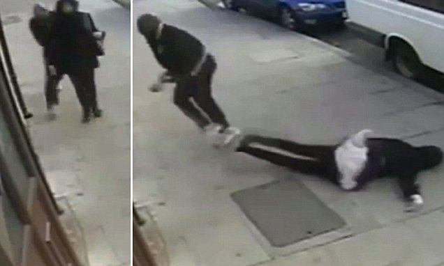 Hijab-wearing woman knocked to the floor unconscious in Newham