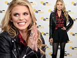"""PARK CITY, UT - JANUARY 22:  Actress AnnaLynne McCord in the IMDb Studio In Park City for """"IMDb Asks"""": Day One  - Park City on January 22, 2016 in Park City, Utah.  (Photo by Angela Weiss/Getty Images for IMDb)"""