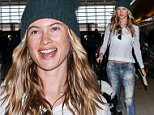 Behati Prinsloo at LAX\n\nPictured: behati prinsloo\nRef: SPL1213020  220116  \nPicture by: Splash News\n\nSplash News and Pictures\nLos Angeles: 310-821-2666\nNew York: 212-619-2666\nLondon: 870-934-2666\nphotodesk@splashnews.com\n