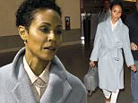 147036, EXCLUSIVE: Jada Pinkett Smith emerges from New Orleans International Airport where she talks about boycotting the Oscars. New Orleans, Louisiana - Tuesday January 19, 2016. Photograph: � PacificCoastNews. Los Angeles Office: +1 310.822.0419 sales@pacificcoastnews.com FEE MUST BE AGREED PRIOR TO USAGE