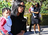 Beverly Hills, CA - Kelly Rowland picks up her son Titan from the same baby class that Kourtney Kardashian drops off her tots. The Destiny's Child singer dresses comfortably in a black T-shirt dress and Nike sneakers.\n \nAKM-GSI   January 21, 2016\nTo License These Photos, Please Contact :\nSteve Ginsburg\n(310) 505-8447\n(323) 423-9397\nsteve@akmgsi.com\nsales@akmgsi.com\nor\nMaria Buda\n(917) 242-1505\nmbuda@akmgsi.com\nginsburgspalyinc@gmail.com