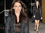 Former 90210 beauty, Jessica Lowndes was seen arriving at 'the Nice Guy' bar in West Hollywood, CA  Pictured: Jessica Lowndes Ref: SPL1213333  220116   Picture by: SPW / Splash News  Splash News and Pictures Los Angeles: 310-821-2666 New York: 212-619-2666 London: 870-934-2666 photodesk@splashnews.com