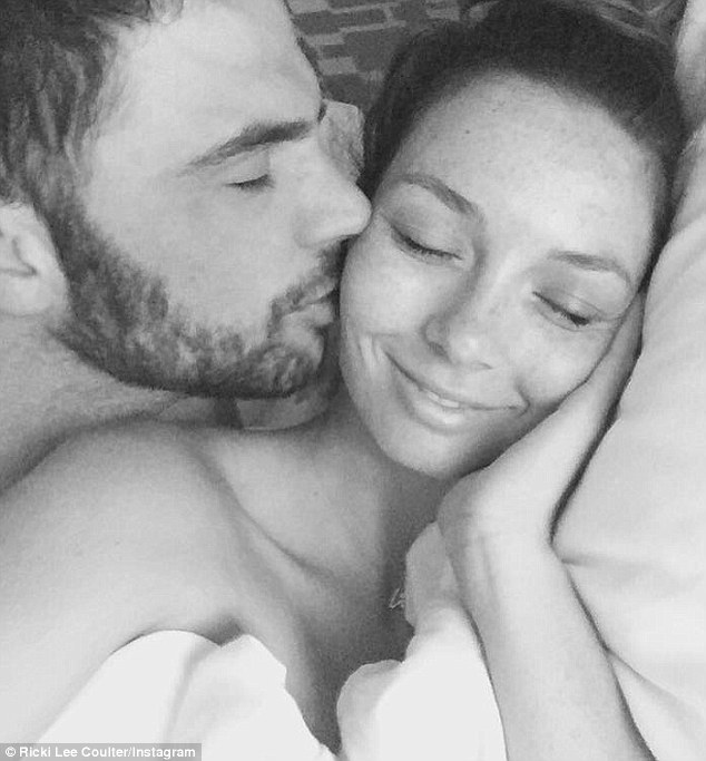 Pure perfection: Ricki-Lee told the publication she wished she could freeze time during their ceremony