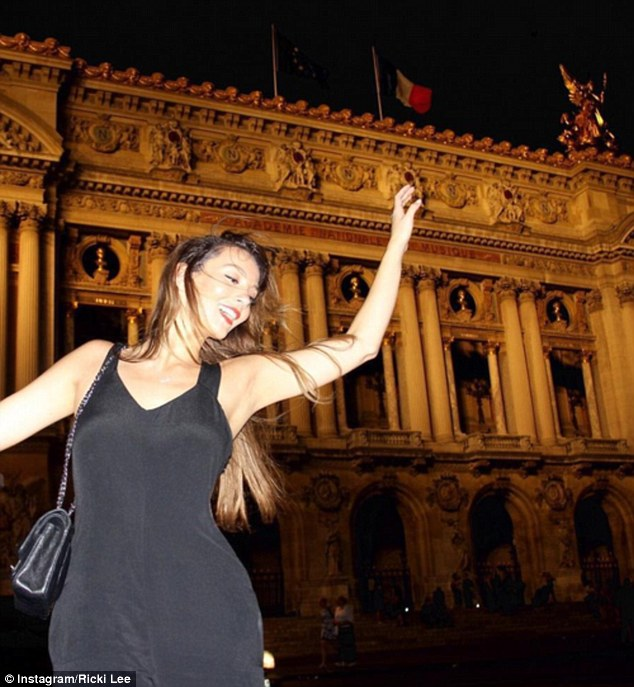 Private affair: The couple only invited 27 of their friends and family to the French capital for the celebrations