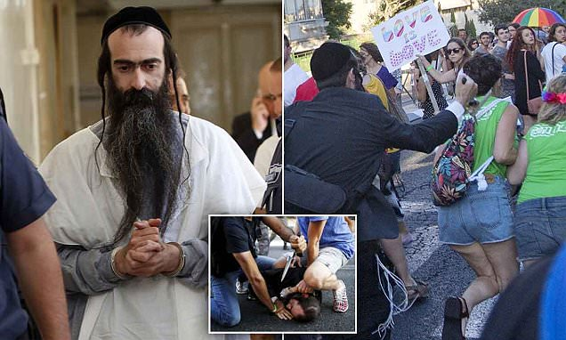 Ultra-orthodox Jew Yishai Shlissel 'who stabbed six at Gay Pride march' pictured