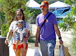 EXCLUSIVE: ** PREMIUM EXCLUSIVE RATES APPLY**  Robert Downey Jr and his wife Susan Downey take their daughter Avri Downey out to the Farmer's market in Malibu. Robert and His wife have yet to really venture out with their daughter so this was a treat to see little Avri in a baby carrier.  Robert and his wife were seen picking fresh fruit and vegetables before heading home with the little one. these might possibly be the first paparazzi pictures of Avri Downey  Pictured: Robert Downey Jr, Susan Downey and Avri Roel Downey Ref: SPL1132572  230915   EXCLUSIVE Picture by: Fern / Splash News  Splash News and Pictures Los Angeles: 310-821-2666 New York: 212-619-2666 London: 870-934-2666 photodesk@splashnews.com