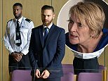 WARNING: Embargoed for publication until 00:00:01 on 24/01/2016 - Programme Name: Eastenders - TX: 05/02/2016 - Episode: 5224 (No. n/a) - Picture Shows: Dean gives his plea.  Dean Wicks (MATT DI ANGELO) - (C) BBC - Photographer: Kieron McCarron