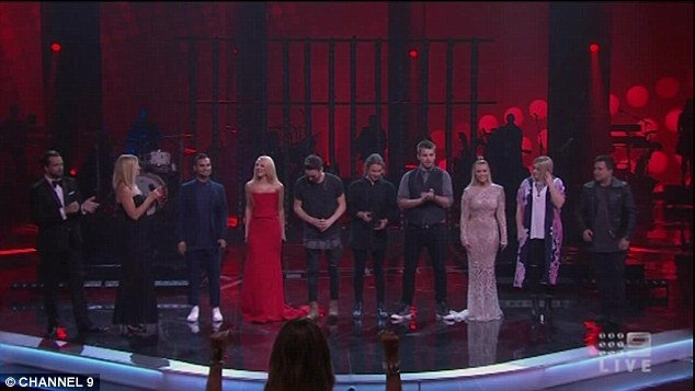 Semi Finals: The eight semi-finalists were whittled down to just four contestants across the live semi final