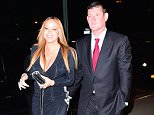 EXCLUSIVE: ***PREMIUM EXCLUSIVE RATES APPLY***NO WEB UNTIL 1.30AM PST, JANUARY 23, 2015*** Newly-engaged Mariah Carey shows off her huge engagement ring as she steps out with James Packer in New York City. Billionaire Packer popped the question in front of Mariah's closest friends at a private dinner at Eleven Madison Park. Photos taken on January 21st 2016 **MIN FEE ?300 PER PIC**   Pictured: AB Ref: SPL1213219  220116   EXCLUSIVE Picture by: 247PAPS.TV / Splash News  Splash News and Pictures Los Angeles:310-821-2666 New York:212-619-2666 London:870-934-2666 photodesk@splashnews.com