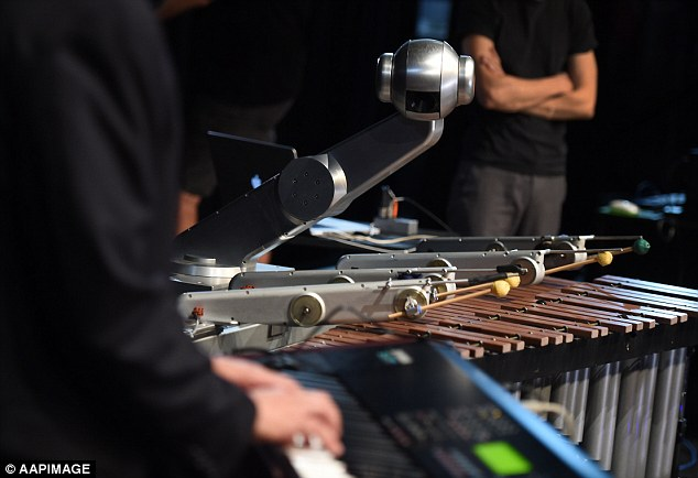 Shimon is astonishingly capable of listening, improvising and collaborating with human beings to create brand new music