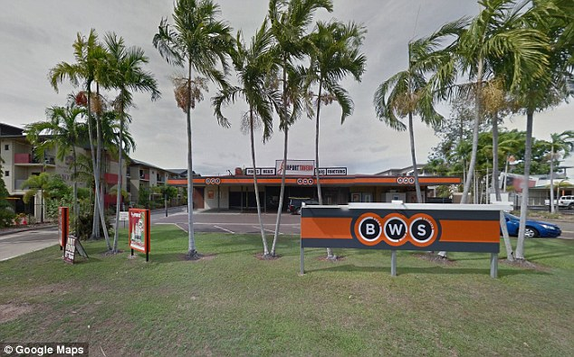 The incident took place at theAirport Tavern in Darwin