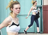 EXCLUSIVE: Elle Fanning leaves the gym after a workout in Los Angeles.\n\nPictured: Elle Fanning\nRef: SPL1214068  230116   EXCLUSIVE\nPicture by: Photographer Group / Splash News\n\nSplash News and Pictures\nLos Angeles: 310-821-2666\nNew York: 212-619-2666\nLondon: 870-934-2666\nphotodesk@splashnews.com\n