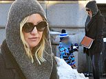 "EXCLUSIVE: Kate Hudson spotted enjoying the snow on a wintery day in NYC. Kate spent time making the best of the blizzard conditions in New York City with son Bingham Hawn Bellamy. Creating a stir recently..This week Kate shared a very racy photo with her Instagram followers showing the A Lister laying back in a tub filled with soapy water exposing her rear end while titling the snap ""#JustAnotherDayAtTheOffice""\\nPlease byline:TheImageDirect.com\\n*EXCLUSIVE PLEASE EMAIL sales@theimagedirect.com FOR FEES BEFORE USE"