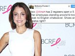 Mandatory Credit: Photo by Sonia Moskowitz/Globe Photos/REX/Shutterstock (5328332c)\\nBethenny Frankel\\nBreast Cancer Research Foundation Symposium and Awards Luncheon, New York, America - 29 Oct 2015\\n\\n