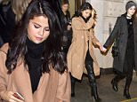 EXCLUSIVE: Selena Gomez and Victoria's Secret model Megan Puleri go out for dinner for a second night in a row in New York City, New York on January 22, 2016.\n\nPictured: Selena Gomez and Megan Puleri\nRef: SPL1213298  220116   EXCLUSIVE\nPicture by: XactpiX/Splash News\n\nSplash News and Pictures\nLos Angeles: 310-821-2666\nNew York: 212-619-2666\nLondon: 870-934-2666\nphotodesk@splashnews.com\n