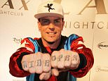 Vanilla Ice arrives at Throwback Thursday at Lax nightclub at the Luxor Hotel and Casino, Las Vegas, Nevada....22 January 2016.....Please byline: IPX/Vantagenews.com