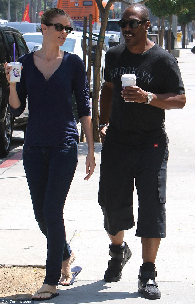 Daily grind! The pair, who began dating in 2012, are known for their habitual coffee runs