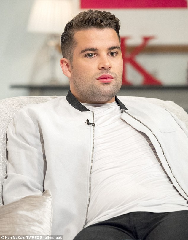 Defiant: Joe was initially upset when this image of himself on ITV's Lorraine surfaced online