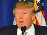 Donald Trump spoke to supporters at Muscatine High School in Muscatine, Iowa on January 24, 2016