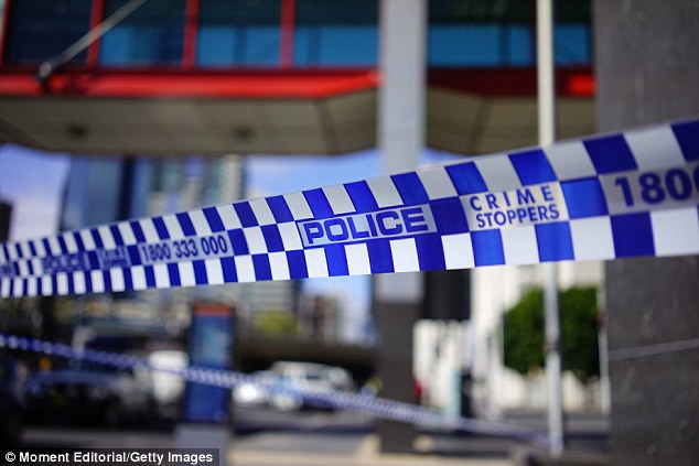 A large crime scene has been set up around the Barombah Rd, as well as a second crime scene at a home nearby