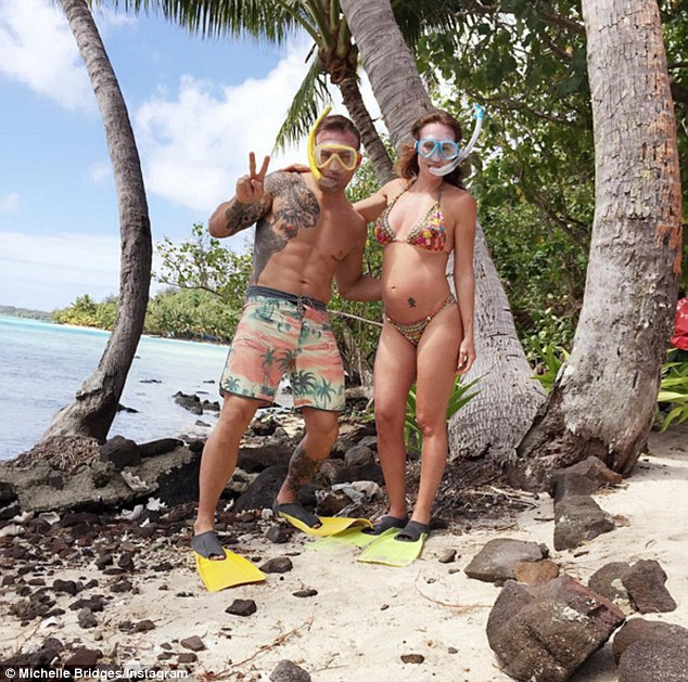Babymoon! Meanwhile Steve has recently returned to Sydney after enjoying an extended holiday in Tahiti with his partner Michelle Bridges, 44
