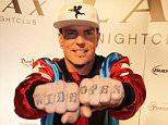 Vanilla Ice arrives at Throwback Thursday at Lax nightclub at the Luxor Hotel and Casino, Las Vegas, Nevada....22 January 2016.....Please byline: IPX/Vantagenews.com