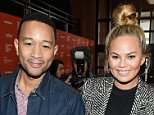 """PARK CITY, UT - JANUARY 24:  Musician John Legend (L) and model Chrissy Teigen attend """"Southside With You"""" Premiere during the  2016 Sundance Film Festival at Eccles Center Theatre on January 24, 2016 in Park City, Utah.  (Photo by George Pimentel/Getty Images for Sundance Film Festival)"""