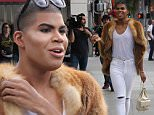 EJ Johnson sports a fur coat, Chanel handbag and a full face of makeup while out filming 'Rich Kids of Beverly Hills' on Rodeo Drive\nFeaturing: EJ Johndon\nWhere: Los Angeles, California, United States\nWhen: 22 Jan 2016\nCredit: WENN.com