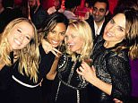 EROTEME.CO.UK FOR UK SALES: Contact Caroline 44 207 431 1598 Picture shows: Kimberley Walsh, Rochelle Humes, Emma Bunton and Melanie C NON-EXCLUSIVE: Sunday 24th January 2016 Job: 160124UT1 London, UK EROTEME.CO.UK 44 207 431 1598 Disclaimer note of Eroteme Ltd: Eroteme Ltd does not claim copyright for this image. This image is merely a supply image and payment will be on supply/usage fee only.