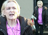 """***BYLINE: MELMEDIA*** \n *** EMBARGO ***NOT FOR ONLINE PUBLICATION BEFORE 00.01hrs.MONDAY 25th January 2016***\nRarely seen national treasure Caroline Aherne enjoys a pub lunch with friends in Cheshire.\nThe Mrs Merton comedian, famously known for asking Debbie McGee """"what first attracted you to millionaire Paul Daniels"""" has long battled with cancer, but was seen sparkly-eyed and smiling with friends.\nThe talented but reclusive star who is known for her playful comedy acting and script writing disclosed back in June 2014 that she has lung cancer after twice overcoming other forms of the disease. 08/01/16\n***BYLINE: MELMEDIA***\nPLEASE NOTE ALL SALES WILL BE HANDLED BY MEL WHITEHEAD AT MELMEDIA.  PLEASE CONTACT MEL ON 07711 700 105 & EMAIL: mel.media.123@gmail.com\n"""