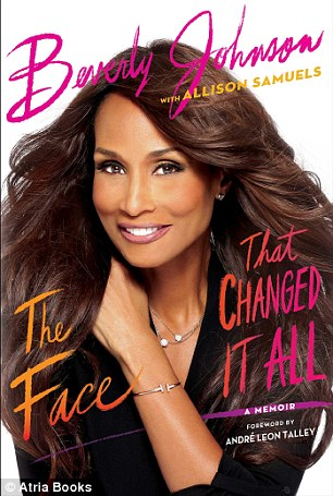 The cover of her memoir, The Face That Changed It All, shown above