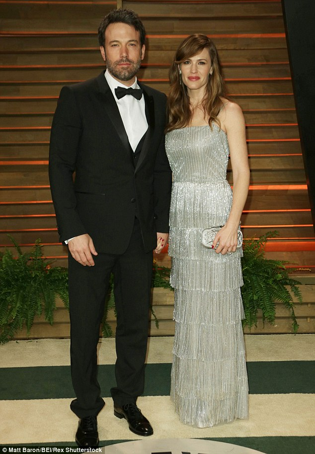 Trouble: Christine has been linked to the breakdown of Ben Affleck and Jennifer Garner's marriage