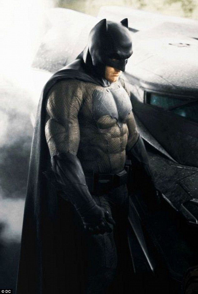 Coming soon: Ben Affleck is the latest actor to take on the role of the caped crusader in Batman v Superman, out in cinemas next year