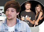 """*EXCLUSIVE* Beverly Hills, CA - Louis Tomlinson spotted for the first time after his girlfriend Briana Jungwirth welcomed their baby boy today.  The """"One Direction"""" band member stopped at Sunglass Hut to buy a pair of sunglasses before speeding off in his limo SUV. AKM-GSI         January 22, 2016 To License These Photos, Please Contact : Steve Ginsburg (310) 505-8447 (323) 423-9397 steve@akmgsi.com sales@akmgsi.com or Maria Buda (917) 242-1505 mbuda@akmgsi.com ginsburgspalyinc@gmail.com"""