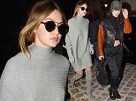 25.JANUARY.2016 - PARIS - FRANCE\nAmerican Models and sisters Gigi Hadid and Bella Hadid arrives at Chanel office in Paris, France\n*** AVAILABLE FOR UK SALE ONLY ***\nBYLINE MUST READ : E-PRESS / XPOSUREPHOTOS.COM\n***UK CLIENTS - PICTURES CONTAINING CHILDREN PLEASE PIXELATE FACE PRIOR TO PUBLICATION ***\n**UK CLIENTS MUST CALL PRIOR TO TV OR ONLINE USAGE PLEASE TELEPHONE 0208 344 2007**