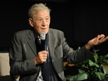 Actor Ian McKellen says there is not enough ethnic minority or gay or lesbian representation in Hollywood ©Joshua Blanchard (Getty/AFP)