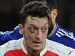 LONDON, ENGLAND - JANUARY 24:  Mesut Ozil of Arsenal during the Barclays Premier League match between Arsenal and Chelsea Emirates Stadium on January 24, 2016 in London, England.  (Photo by David Price/Arsenal FC via Getty Images)
