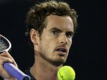 25/1/2016 Australian Open Tennis Melbourne Australia Day 8 Andy Murray BEATS Bernard Tomic  Picture Dave Shopland/Daily Mail