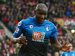 SUNDERLAND, ENGLAND - JANUARY 23:  Benik Afobe of Bournemouth celebrates scoring his team's first goal during the Barclays Premier League match between Sunderland and A.F.C. Bournemouth at the Stadium of Light on January 23, 2016 in Sunderland, England.  (Photo by Ian MacNicol/Getty Images)