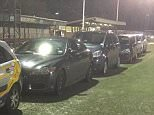 """Tweet from Altrincham FC before their FA Challenge Trophy at Bognor Regis Town FC, 19 January 2016 """"Potential issue here at Bognor with part of the pitch frozen. 6 cars are currently trying to thaw out the surface"""""""