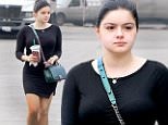 Make-up free Ariel Winter picks up a drink from Starbucks in Beverly Hills\nFeaturing: Ariel Winter\nWhere: Los Angeles, California, United States\nWhen: 23 Jan 2016\nCredit: WENN.com\n**Only available for publication in UK, Germany, Austria, Switzerland, Italy, Australia. No Internet Use. Not available for Subscribers**