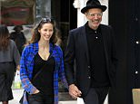 Picture Shows: Emilie Livingston, Jeff Goldblum  January 23, 2016    Actor Jeff Goldblum was spotted taking a stroll with his wife, Emilie Livingston, in Beverly Hills, California. The pair were all smiles as they went about their day.    Non-Exclusive  UK RIGHTS ONLY    Pictures by : FameFlynet UK © 2016  Tel : +44 (0)20 3551 5049  Email : info@fameflynet.uk.com