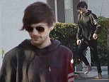 EXCLUSIVE. Coleman-Rayner\nLos Angeles, CA. USA. Jan 24 2016\nNew father Louis Tomlinson visits his son at baby momma Briana Jungwirth's modest Calabasas apartment. The 1Direction popstar was barefoot as he stepped out of a limousine which dropped him off at the small apartment Briana lives in with her family. \nEarlier in the day, Briana's stepdad Brett was seen picking up some flowers and a blue balloon for the new mother.\nCREDIT LINE MUST READ: Anthony Taafe\nTel US (001) 310-4744343- office \nTel US (001) 323 5457584 - cell