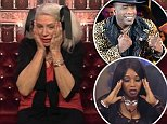 Editorial Use Only.. Mandatory Credit: Photo by REX/Shutterstock (5534064cz).. Angie Bowie grieves in the diary room.. 'Celebrity Big Brother' TV show, Elstree Studios, Hertfordshire, Britain - 11 Jan 2016.. ..