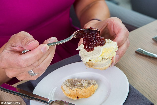 The food scientist insists that Devon-style is the most popular - where the cream goes on first, and then the jam