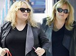 Picture Shows: Rebel Wilson  January 23, 2016\n \n 'Pitch Perfect' actress Rebel Wilson got her hair done at Nine One Zero salon in West Hollywood, California.\n \n Non Exclusive\n UK RIGHTS ONLY\n \n Pictures by : FameFlynet UK © 2016\n Tel : +44 (0)20 3551 5049\n Email : info@fameflynet.uk.com