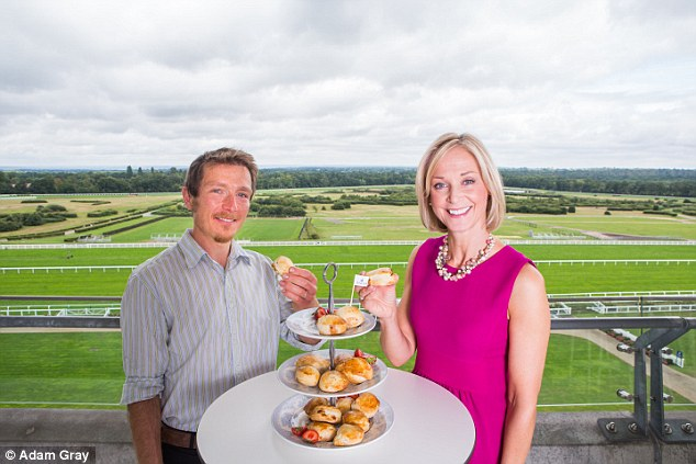 The pair have demonstrated how to nail the perfect scone ahead of Ascot'sFestival of Food & Wine Race Weekend