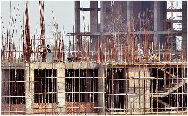 No construction took place for nine years because of a tussle over land ownership between the Delhi Government and the Centre